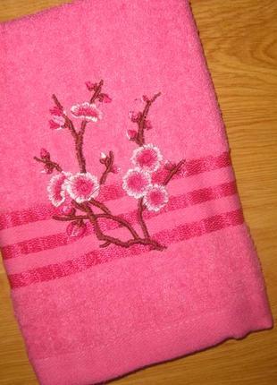 Метровые полотенца сакура размером 50*100 см