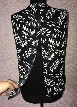 Красивейшая блуза с чокером и красивой спинкой3 фото
