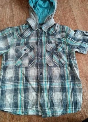 Рубашка з капішоном