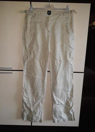 Штаны брюки 100% лён