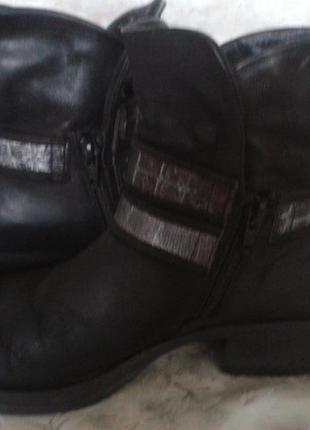 Шикарные ботиночки! натуральная кожа!