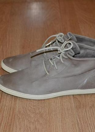 Кожаные ботинки/полуботинки от paul green германия