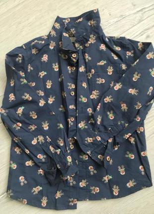 Рубашка с оленями