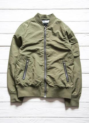 Бомбер от h&m ветровка куртка