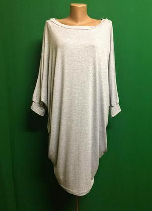 Трикотажное летнее платье оверсайз beyou (l/xl)