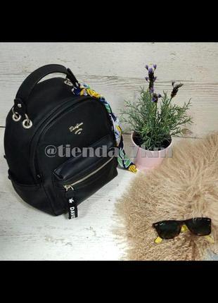 Стильный полуспортивный рюкзак от david jones cm5048t black