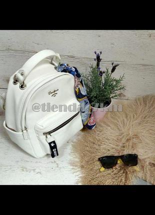 Стильный полуспортивный рюкзак от david jones cm5048t белый