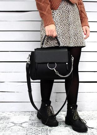 Сумка на длинной ручке cross-body сумочка трендовая и стильная кроссбоди3 фото
