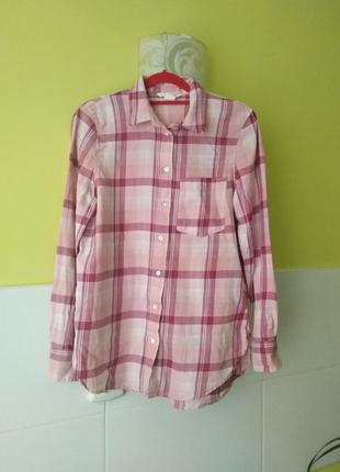 Рубашка в клетку от h&m5 фото