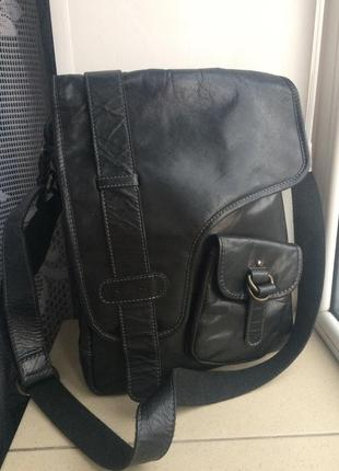 Мужская кожаная сумка varese