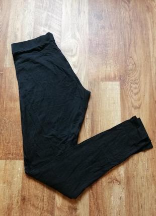 Черные базовые лосины для девушек