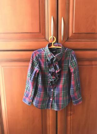 Рубашка  блузка для девочки 4-5 лет ralph lauren