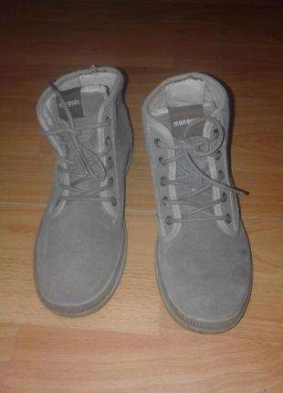 Ботинки утепленные manguun