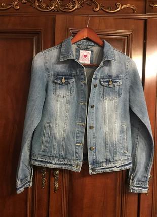 Жакет джинсовый для девочки