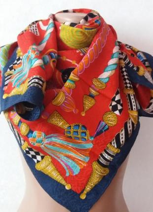 Шелковый платок louis feraud