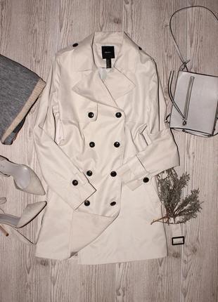 Базовый бежевый тренч - пальто forever21