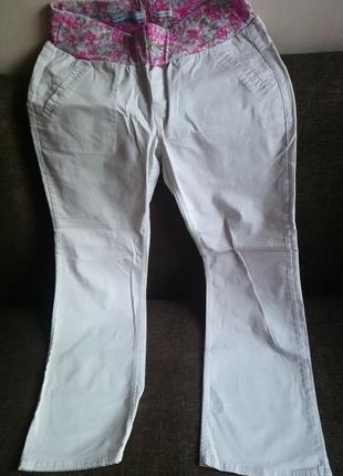 Хлопковые брюки для беременных бренда old navy ,производитель - индонезия 🇮🇩
