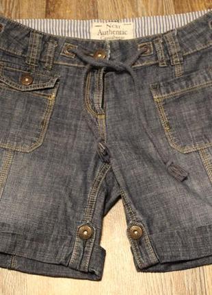 Легкие шорты next в идеальном состоянии m-l