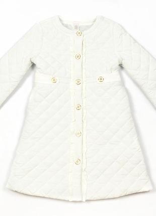Пальто для девочки демисезонное janie & jack