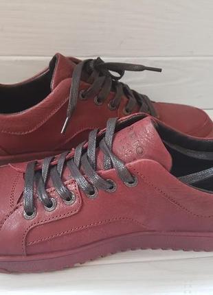 Туфли кожаные cardio р-р  41-43 ( в бордовом,синем,черном цвете)
