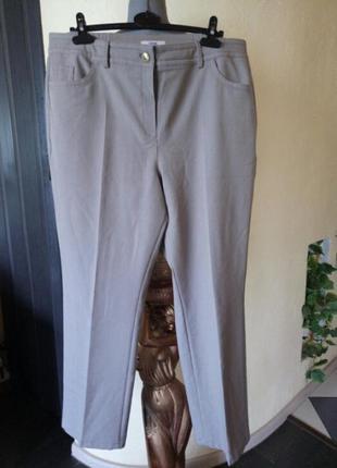 Не широкие,прямые брюки-джинсы,состояние новых,батал