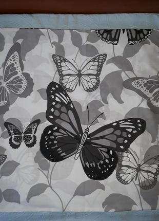 Наволочки 70х70, 2 шт.,с бабочками, наволочки з метеликами