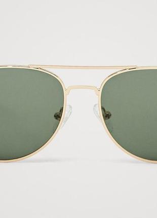 Солнцезащитные очки-авиаторы massimo dutti