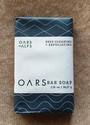 Ароматное мужское мыло для лица oars, отлично очищает поры и ухаживает за кожей