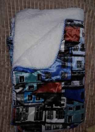 Детский плед -одеяло двойное1 фото