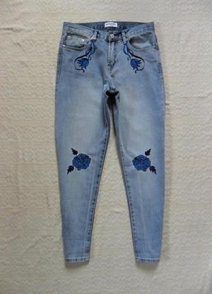 Хит сезона! мом джинсы момы с вышивкой glamorouus, 10 размер.
