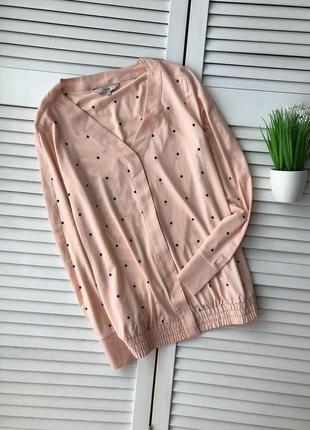 Милая блуза в горошек