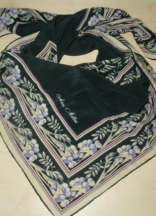 Vintage аrica мellini шелковый платок