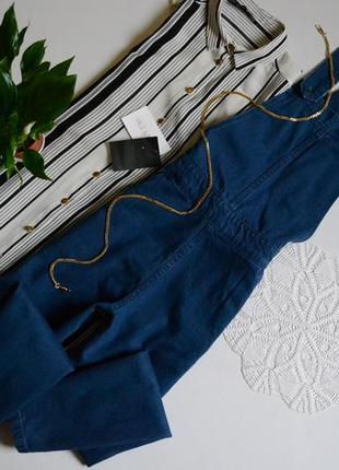 Zara комбінезон джинсовий