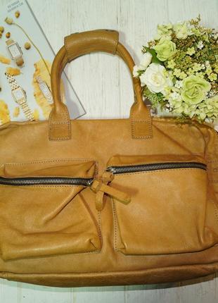 Cowboys bag. кожа. классная вместительная сумка