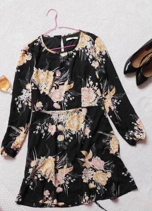 Стильное платье с цветочным принтом. george
