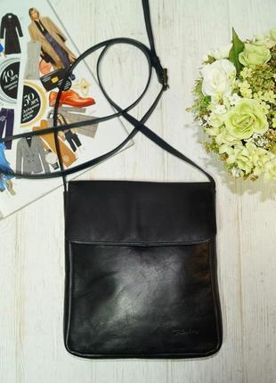 Fanbay. кожа. классная сумка через плечо, кросс-боди