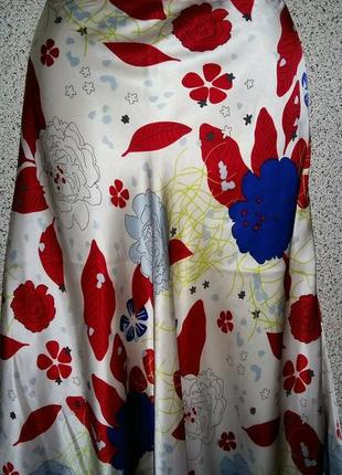 Красивая шелковая юбка от бренда jjbbenson оригинал швейцария