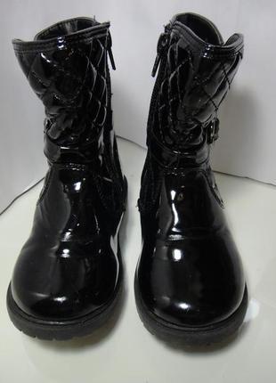 Красивейшие деми сапожки ботинки f&f р. 25-26 (7) стелька 16см