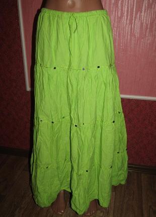 Летняя юбка р-р 14-хл