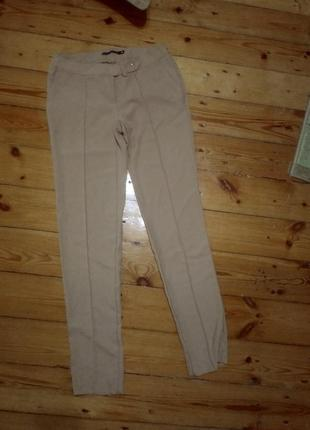 Штаны брюки befree брючные костюмные официальные бежевые