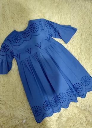 Шикарное платье от zara для девочки 11-12лет