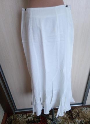Шикарная   летняя длинная  юбка   р. 50/52 бренд  biaggini