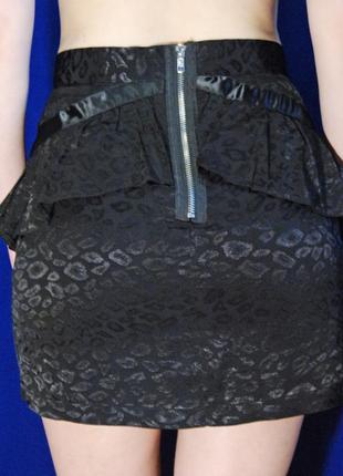 Сексуальная мини-юбка с баской от atmosphere :)