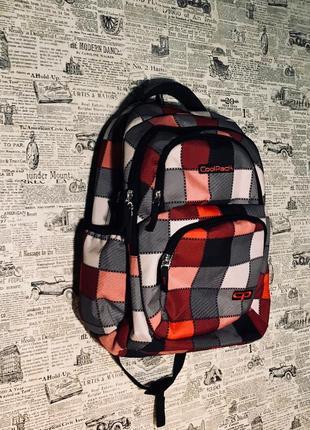 Рюкзак в клетку coolpack