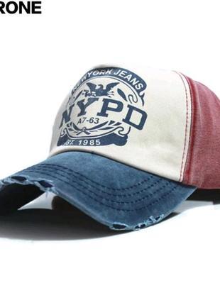 Классная джинсовая кепка/ блайзер/ бейсболка