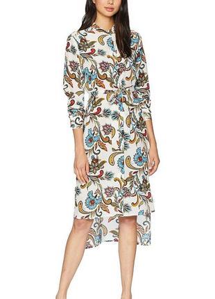 Juicy couture оригинал шелковое летнее платье-рубашка бренд из сша натуральный 100% шелк