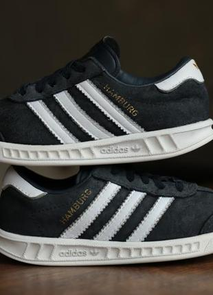 Детские кроссовки adidas originals hamburg el infants