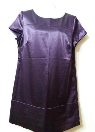 Атласное платье -бренд--george--14р подойдет и на 12р