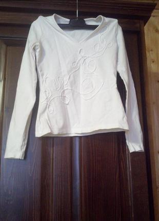 Белая нарядная кофточка mexx xs 34