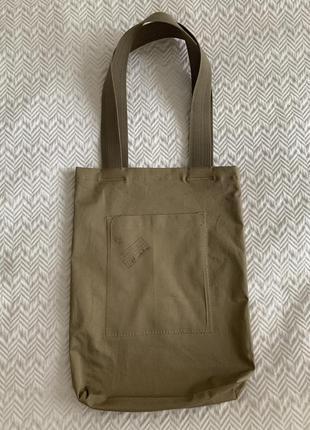 Эко сумка торба шоппер @don.bacon кофе coffee хаки4 фото